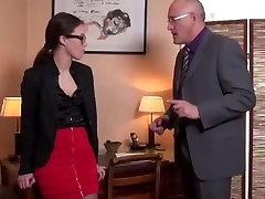 sekretorius anal fuck biure