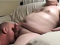 daddy blows mature chub