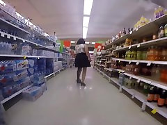 mature wife limps with leg braces and heels.