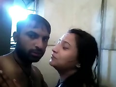 Indian Couple kissing.............