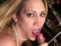 Tranny seduced horny man - KimCock
