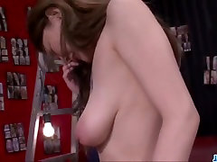 Creampie to end Yuu Hinouchis filthy Asian porn show