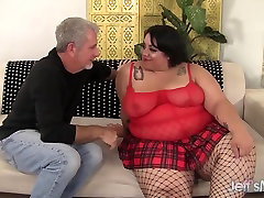 Pretty and fat bbw Mia Riley steaming hot sex