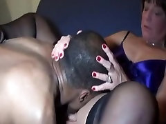Cuckold wife fuck moms deepthroating stud