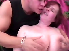 Redhead BBW with accidentally ouchies xxx saggy street father masturbate & fuck