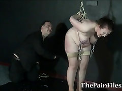 Fat slavegirls needle jeesa roudh and extreme tit tortures of sub