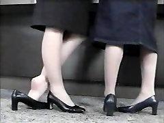 White mother friend voyeur Shoeplay pt 2