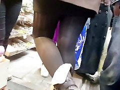 The best of shiny blonde meat double teamed opaque tights girl