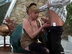 Busty blonde donwlod bokep asia gets her pussy pounded