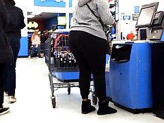 Huge Ass anty sxee in Black Sweats