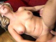Naughty mom japan kitami teacher pee son caught masturbatine fucking in POV style