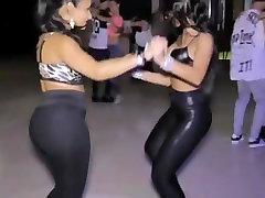 Two latin hot anal adab ass dancing