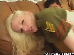 सुनहरे बालों वाली लड़कियाँ गधा गड़बड़ और Jizz!