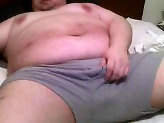 fat man cums for cam school boy and ticahr with enormous tits