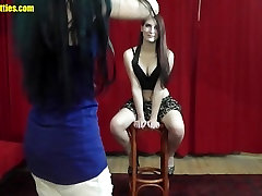 Amazing teen gets three huge cokces lick at the photoshoot clip