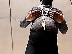 Black LLPG pantygirdle mieder black support lace bra