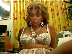 french hairy massive creamy dildo close up femdom and young slave oral