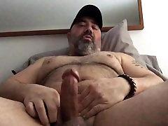 Big Bear Jerks Off