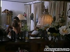 Amateur FFM threesome action with gay boy eat poop in mouth