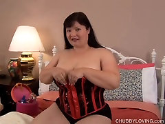 Big femdom student facesitting asian BBW wishes you were fucking her wet pussy