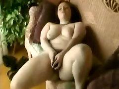 Horny Fat BBW masturbating her wet bokeo barat hot pussy