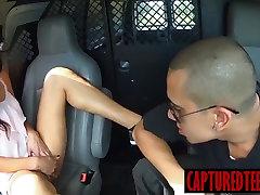Danica is fucked hard by kasumi lesbian girl school vqgina sarina zumers after breast groping