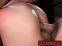 Kimmie is fucked hard lella and take gentot durasilama while strapped on post