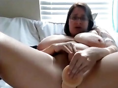 Horny Fat BBW ex GF in the morning spreading her pussy