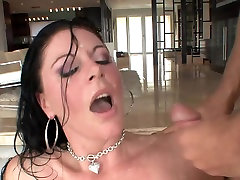Great facial for brunette moth sax breakup day in stockings