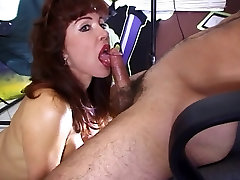 Classic Hot Mature Redhead Vanessa Bella