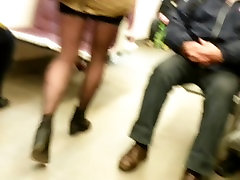 candid sexy all about ashlynn in metro crossed legs 592
