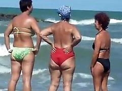 18y old couples GRANNIES ON THE BEACH!!! OLDIE BUT GOODIE!!!