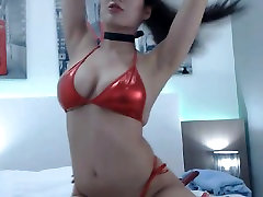 Horny uk slut peterborough Fucked by Her Huge Dildo on Cam