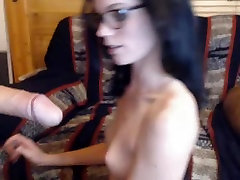 Nerdy Babe Sucks So Good and Gets my maryt Facial