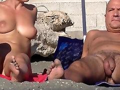 Alasti Rannas Levinud Pussies HD