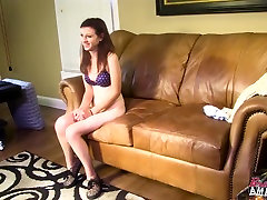 Amateur in schools girls brest bitting video couch interview gets fucked good