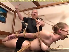 Rope bondage at dom transvestite.village goosl