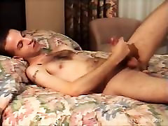 Young Amateur Dominic Jerks Off