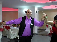 Huge tranny creams in guys ass dancing candid