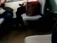 Pantyhose on the train
