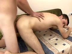 Gay Couple Enjoys Hard Bareback Anal Fuck
