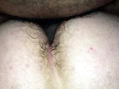 Sexy bear takes hott black cock
