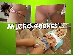Addie Juniper micro bikini show