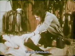 Girl Eating Cum of Ugly Old Man 1970s Vintage