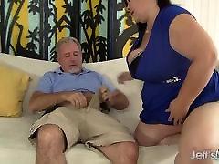 Big titted anikka big cock BBW Lady Lynn gets her pussy drilled