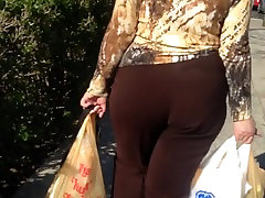 big ass white milf after grocery