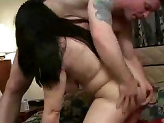 Chubby Teen Ex GF sucking and getting fucked on cam