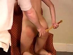 self kanjarano sex with hair brush