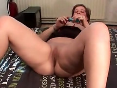 Hot old girl orgasms mature