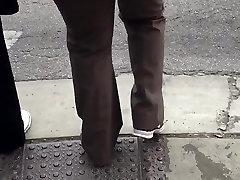 female masturbation forum girl mastuberating redbone milf in brown dress pants 2